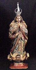Antique Brazilian Santo