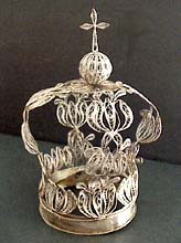 Silver Spanish Colonial Crown
