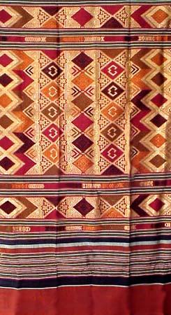 Laotian Silk and Cotton Textiles, Laos Fabric Cloth